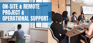 on-site & remore support supply chain Route to Market