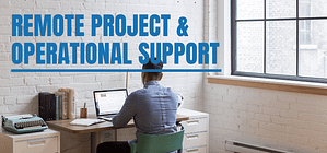 remote RtM and supply chain support to projects and operations